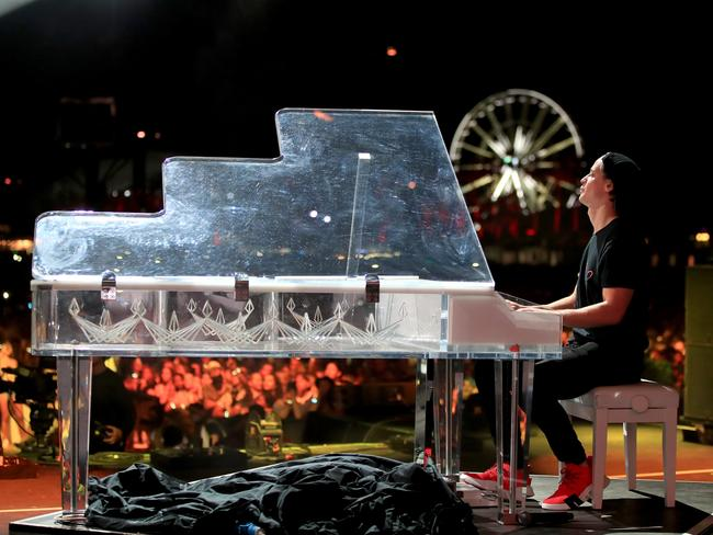 IKygo performing onstage at Coachella. Picture: Getty