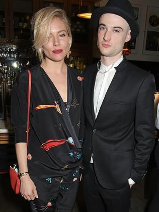 Sienna Miller with ex, Tom Sturridge. Picture: David M. Benett/Getty Images