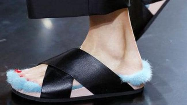 It doesn't matter if these shoes cost you $5000. They are hideous, and they are slippers.