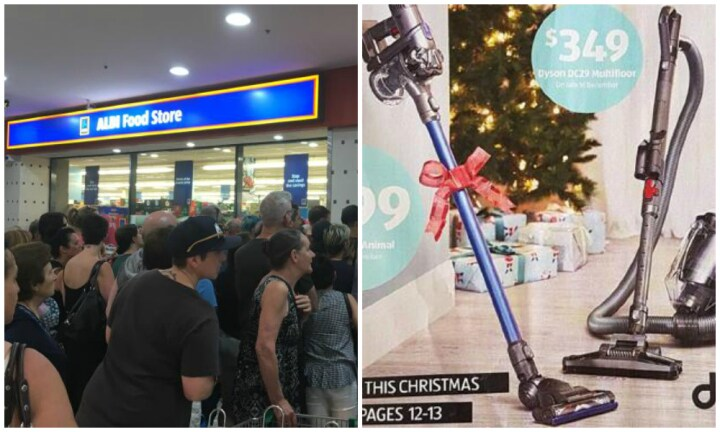 Customers flock to ALDI to snap up bargain Dyson vacuum cleaner