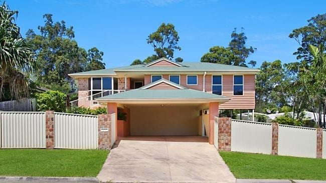 13 Glauca Street, Burleigh Heads, will also go to auction on April 15.