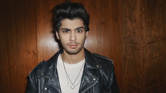 No mystery ... The woman driving Zayn's musical passions is Little Mix fiance Perrie Edwards. Picture: Supplied
