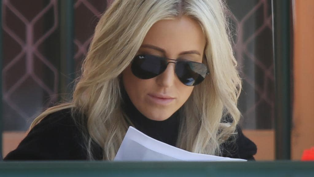 Roxy Jacenko visiting her husband Oliver Curtis in Cooma Jail.