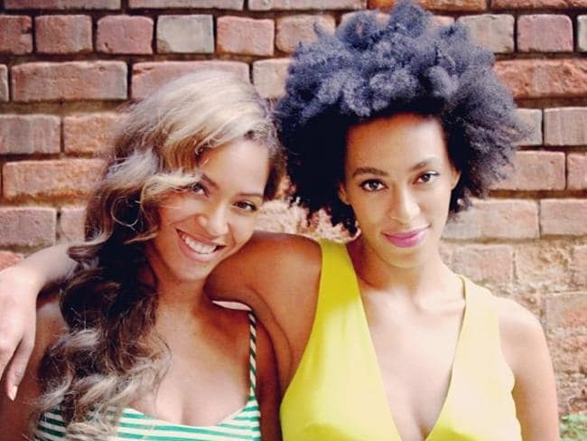 Happy families? Beyonce and Solange Knowles posted this picture to Instagram on May 19.
