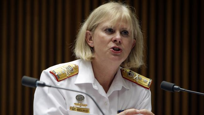 Under fire ... An online petition has been started calling for the dismissal of Rear Admiral Robyn Walker the head of defence health. Picture: Supplied.