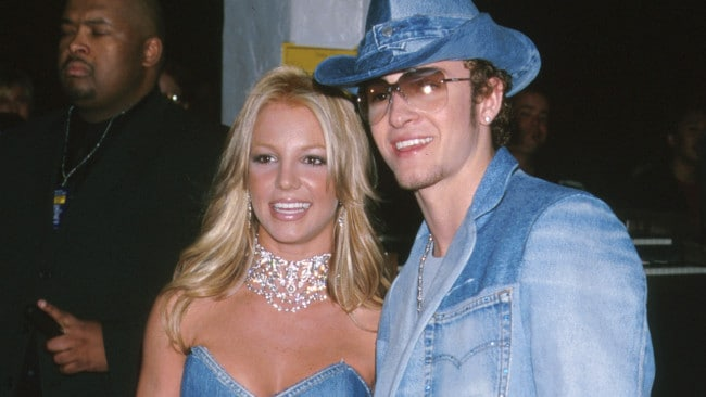 Young love: Britney and JT. (Photo by Jeffrey Mayer/WireImage)
