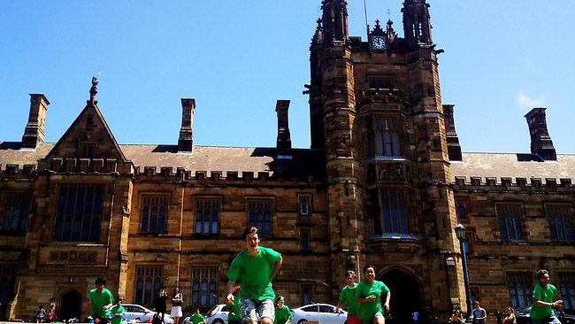 University of Sydney. Picture: Sam Mooy