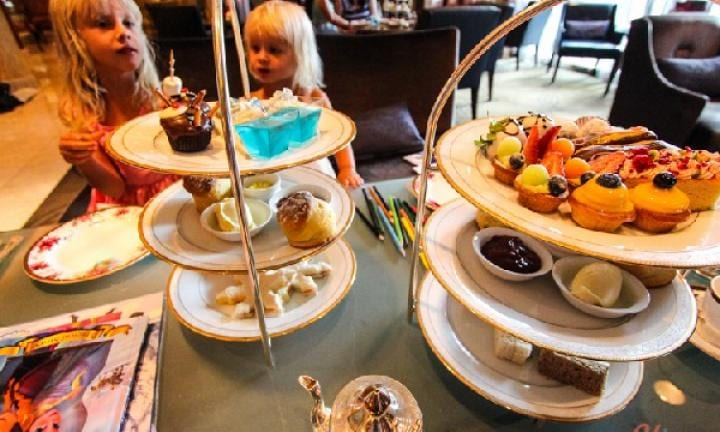 A children's high tea experience at the Langham in Melbourne