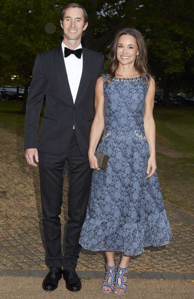 Pippa Middleton will marry her fiance, James Matthews, before Royals and a US actor. Picture: Les Wilson/Camera Press/AustralScope.