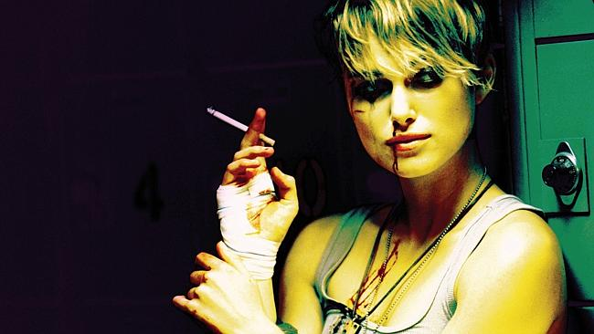 Was Keira Knightley smoking oregano in the 2005 film Domino? Photo: Youtube