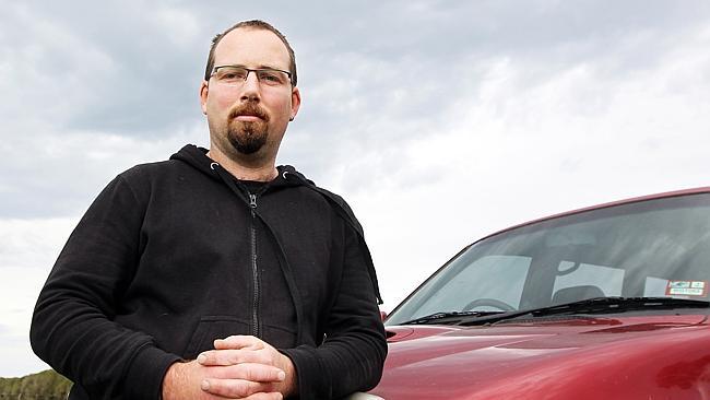 Australian Motoring Enthusiast Party's Senator-elect Ricky Muir.