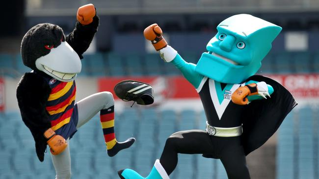 Afl Mascots Which Team Has The Best Mascot And Are They