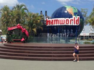 Dreamworld resembles ghost town