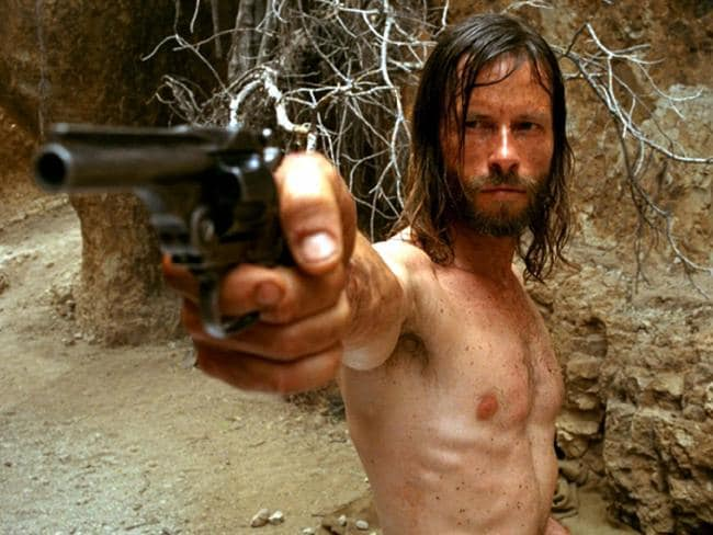 Guy Pearce played Charlie Burns in the 2005 film The Proposition. Picture: Supplied