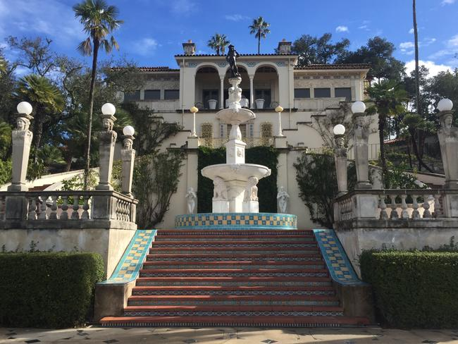 The stunning Hearst Castle.