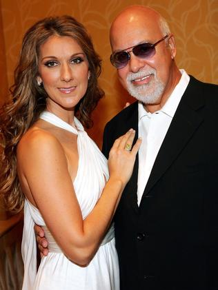 Celine Dion and Rene Angelil.