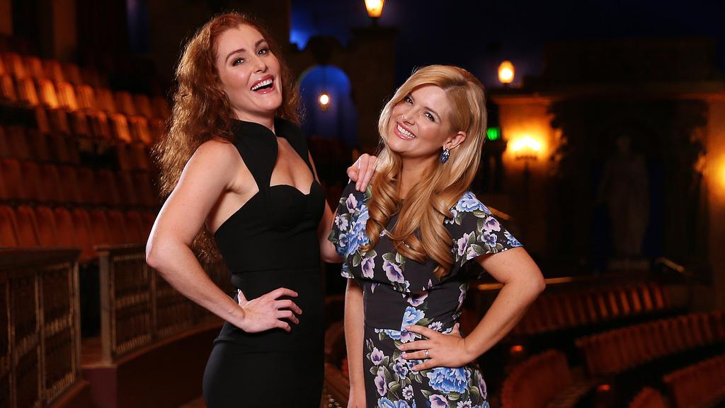 Jemma Rix (left) and Lucy Durack will star in the new production of The Wizard Of Oz.