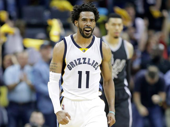 Mike Conley is still fighting.
