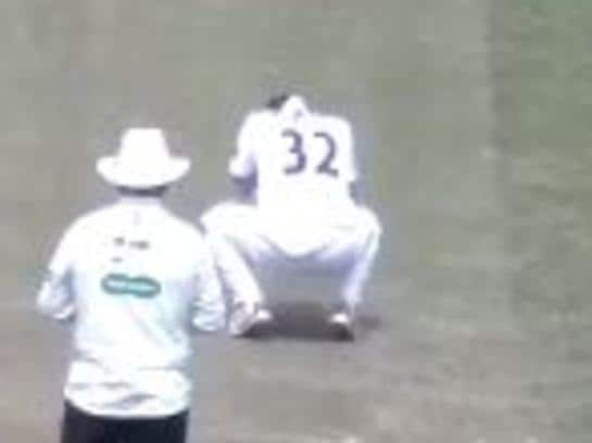 'Unbelievable': Bizarre cricket blunder