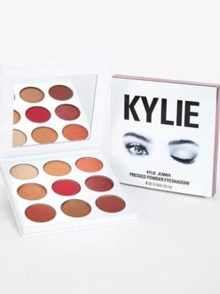 The Kylie Burgundy Palette retails at AU$53.