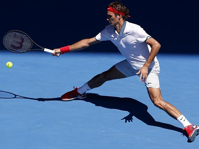 He's from the land that gave us Toblerone and holey cheese, but Fed's diet is more like a Swiss watch.