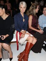 Kate Peck attends the Kate Sylvester show at Mercedes-Benz Fashion Week Australia 2015 at Carriageworks on April 15, 2015 in Sydney, Australia. Picture: Getty