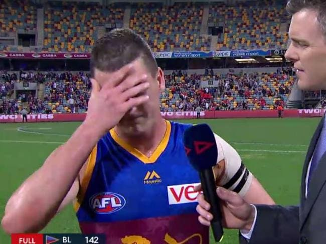 Tom Rockliff's family has had a tough week.