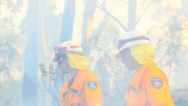 Bushfire, Glen Huon, Hobart