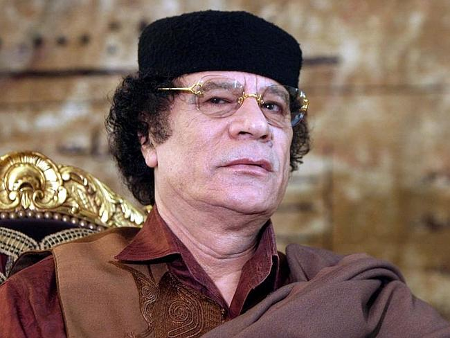 Campaign financing scandal...Sarkozy is under investigation for allegedly accepting millions from former Libyan dictator Muammar Gaddafi to go towards his election campaign. Picture: AFP