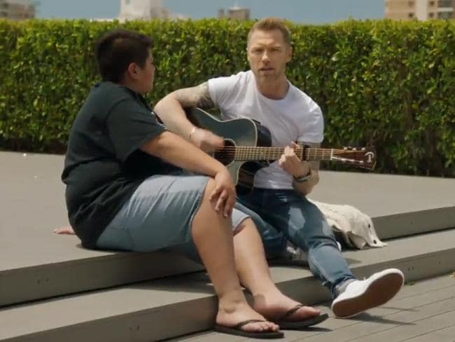 Ronan Keating's summer wonderland
