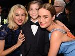Naomi Watts, Jacob Tremblay and Brie Larson pose during The 22nd Annual Screen Actors Guild Awards. Picture: Dimitrios Kambouris/Getty Images