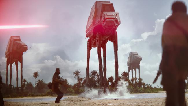 "A scene from ""Rogue One: A Star Wars Story."" Picture: Lucasfilm Ltd."
