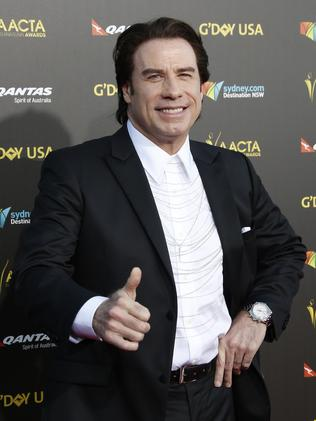 John Travolta. Picture: Supplied