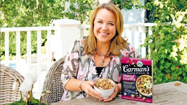Photo: Supplied. Carolyn Creswell, founder of Carman's.
