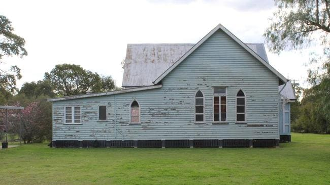 The former church is a substantial size for a house. Source: Supplied
