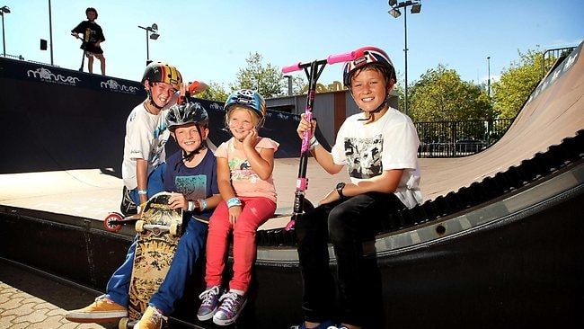 Jordan Heywood 11 Ryan Osadczuk 9 Mikaela 5 And Zac Monster Skatepark