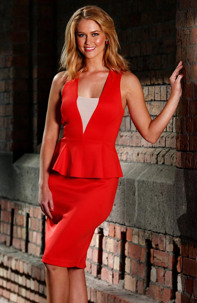 Former Miss Universe Scherri-Lee Biggs will replace Sally Ayhan on the Perth bulletin. Picture: Ian Currie