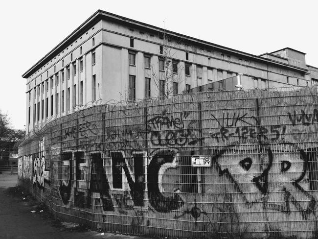 """The """"derelict"""" building. Picture: James Dennes"""