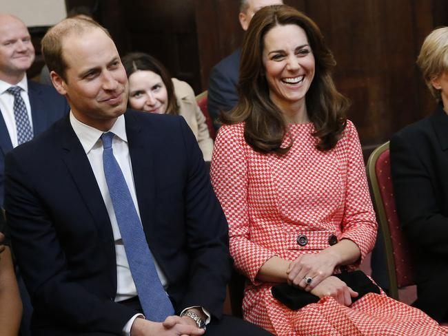 And then just like the Duchess of Cambridge, you'll be laughing! Picture: Frank Augstein — WPA Pool/Getty Images
