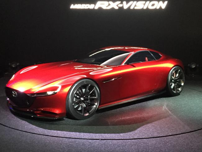 Get excited ... the Mazda RX-VISION. Picture: Supplied