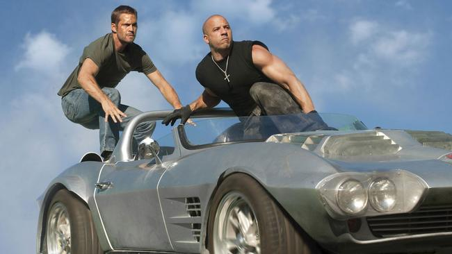 Poignant moment ... The late Paul Walker will be in Fast and Furious 7 alongside his long-running co-star Vin Diesel.