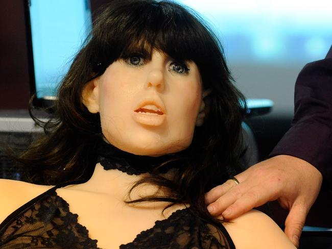 One expert said the current sex robots have a long way to go before they are appealing. Picture: Ethan Miller/Getty Images/AFP
