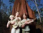 <p>Terri, Bindi and Robert Irwin in 2011. Picture: Supplied</p>
