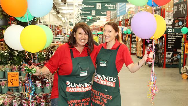Today is a great day for Bunnings. Picture: Alison Wynd