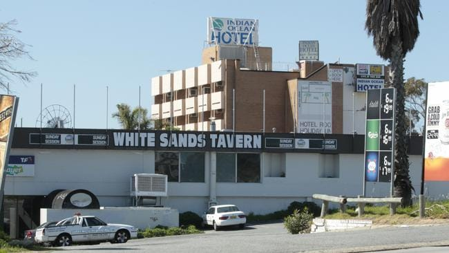 The hotel was built in the early 1970's and has become a Scarborough landmark.