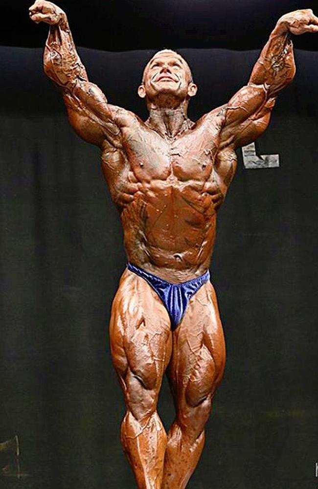 """Australia's leading body builder says """"roid rage"""" is a"""