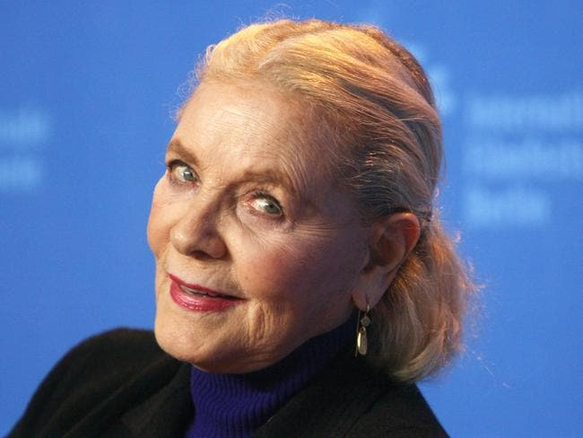 Generous ... Bacall also left thousands to two former employees.