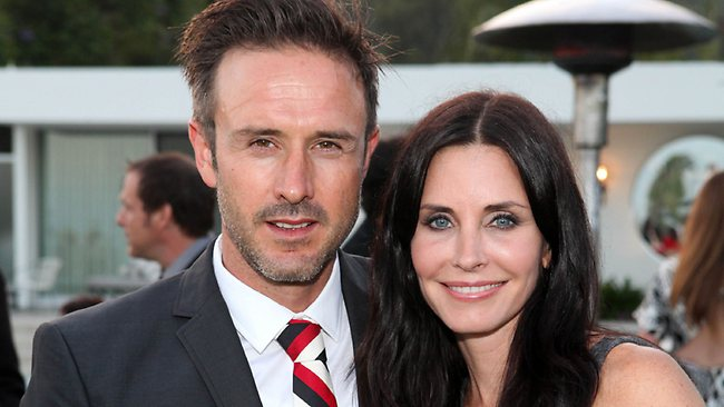 David Arquette and Courteney Cox have finally divorced, more than two years after they first split. Picture: AP