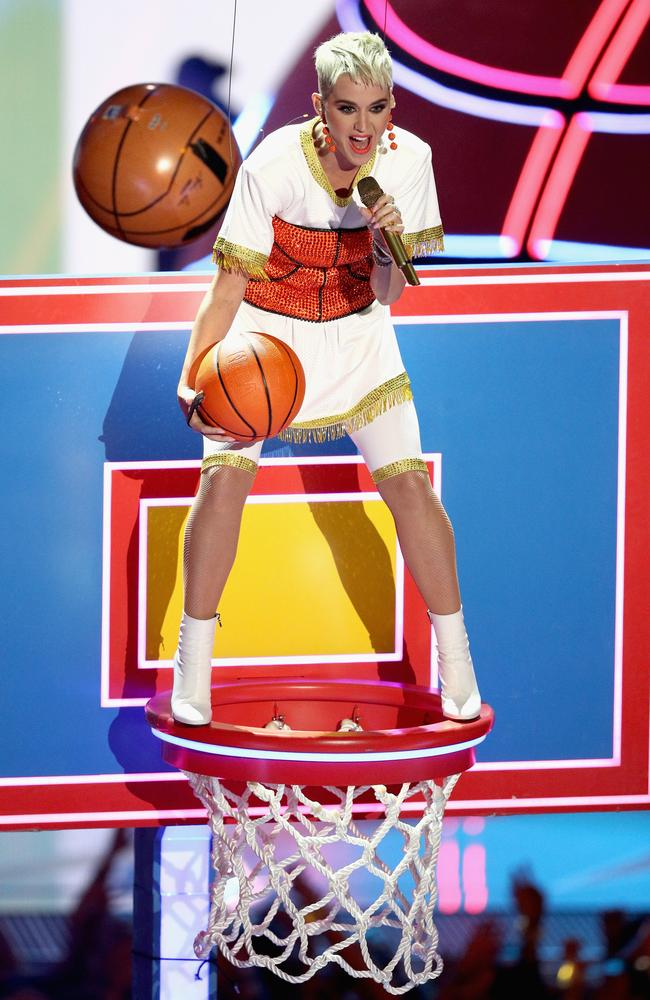 Not a slam dunk from Katy Perry.