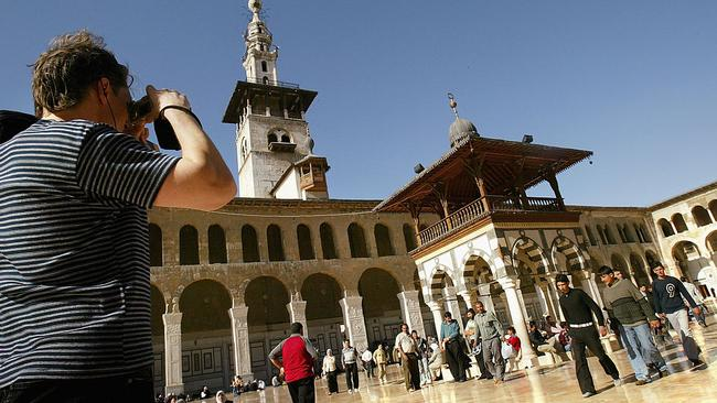 Damascus, in 2005, the last time the country experienced a tourism boom. Picture: Ghaith Abdul-Ahad/Getty Images